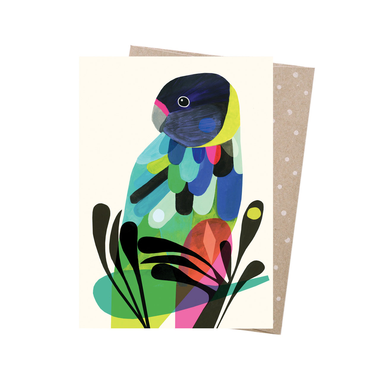 Earth Greetings Card -Twenty Eight Parrot