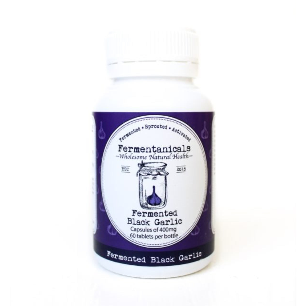 Fermentanicals Fermented Black Garlic Capsules