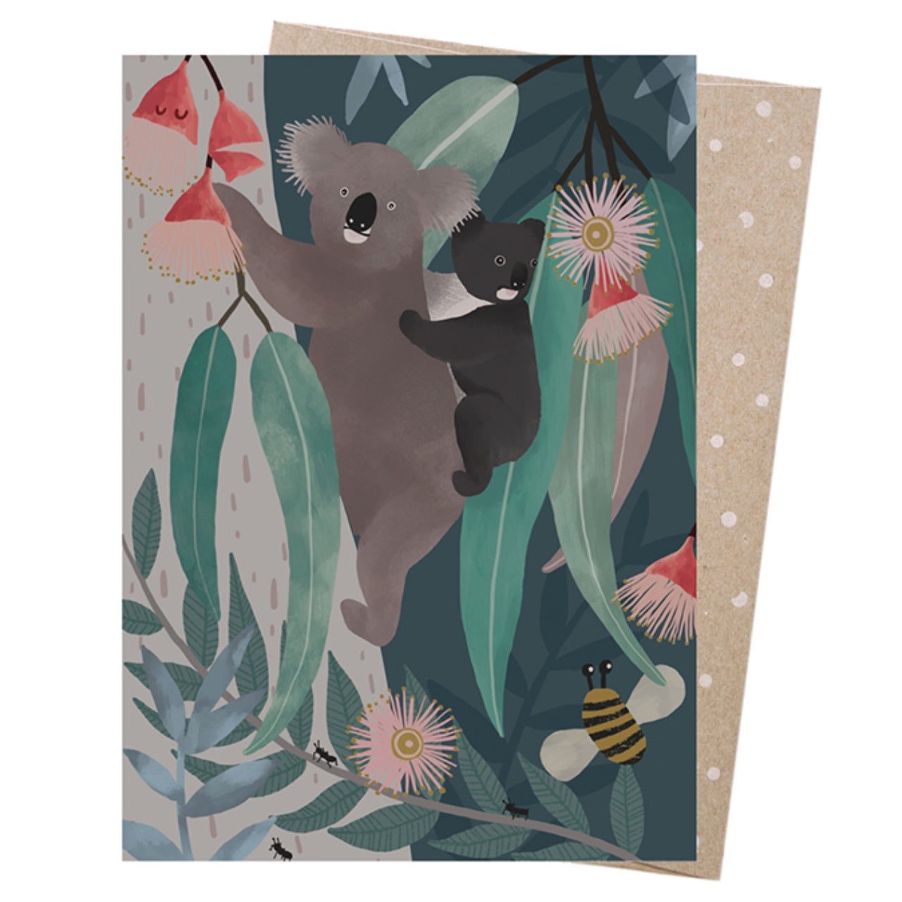 Earth Greetings Card -Bush Baby