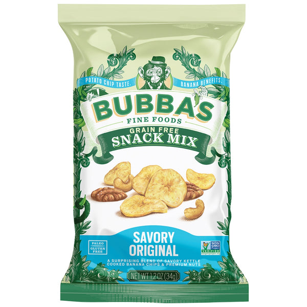 Bubba's Fine Foods Grain Free Savoury Snack Mix