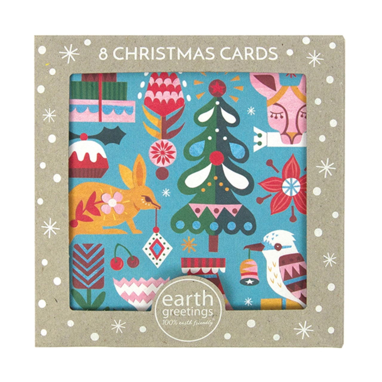 Earth Greetings Boxed Christmas Cards -Bushland Greetings