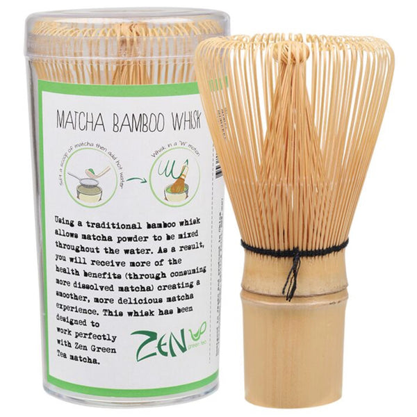 Zen Green Tea Bamboo Whisk