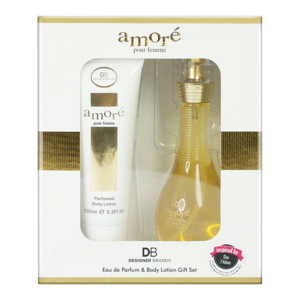 DB Parfum & Lotion Gift Set - Amore