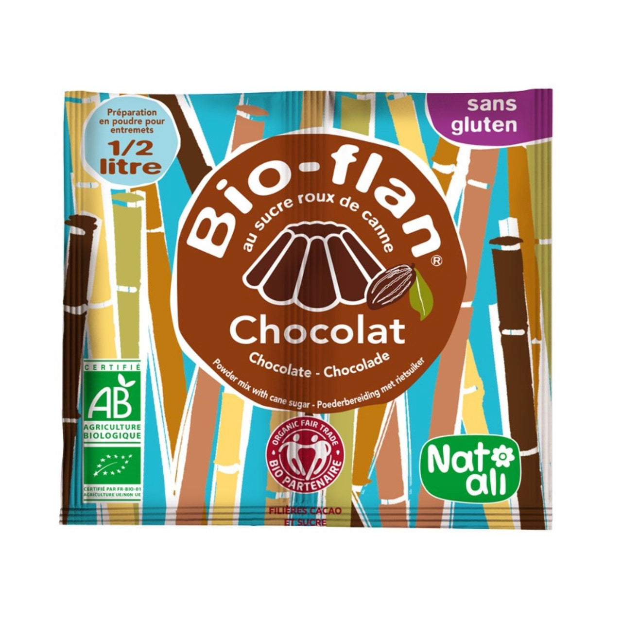 Nat Ali Bio-flan Organic Pudding Mix
