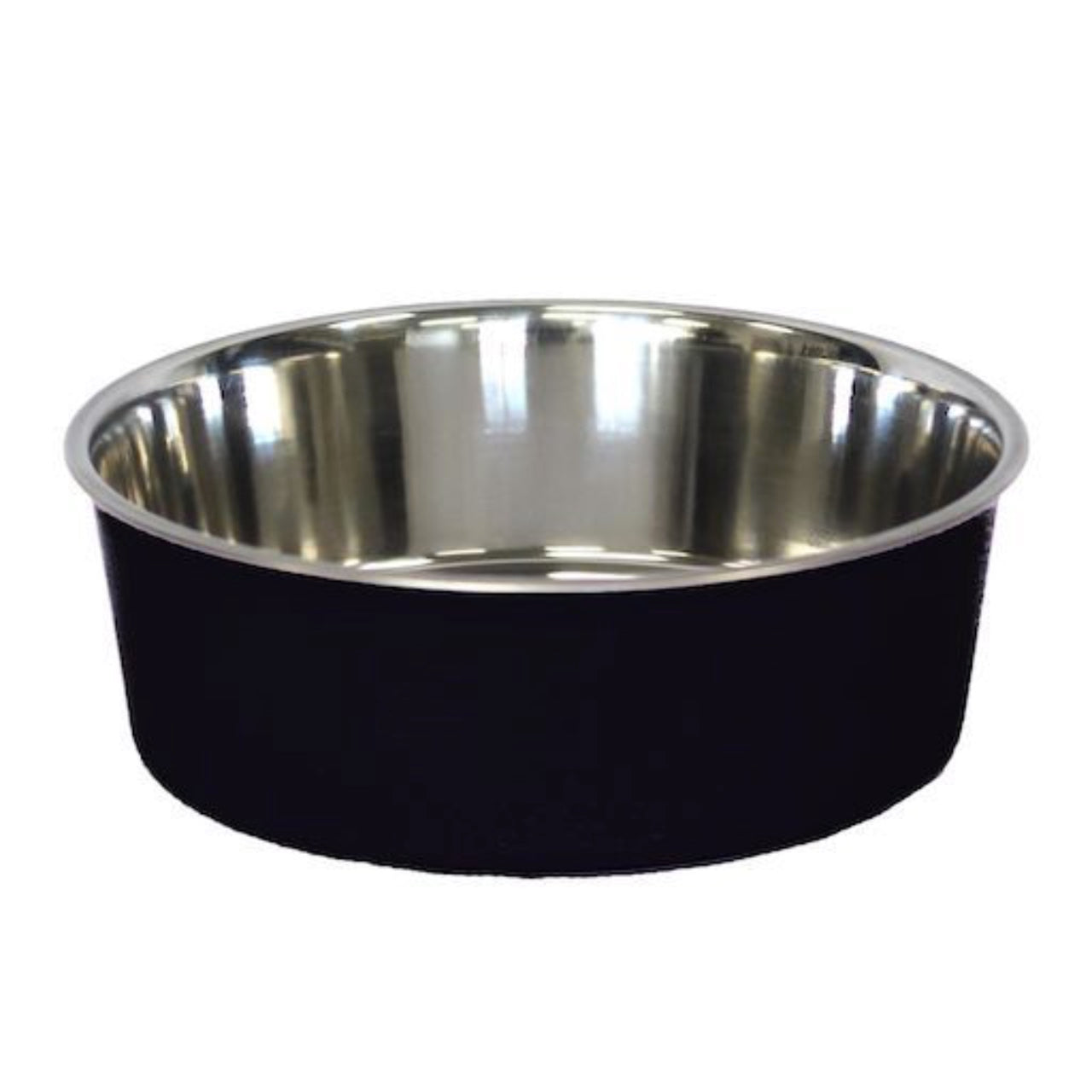 Bella Stainless Steel Pet Bowl -Black
