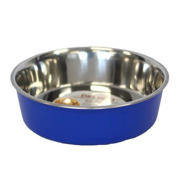 Bella Stainless Steel Pet Bowl -Blue