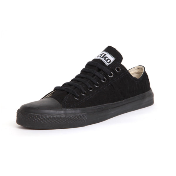 Etiko All Black Lowcut Sneakers