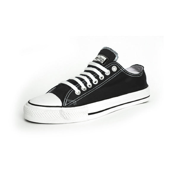 Etiko Black & White Lowcut Sneakers