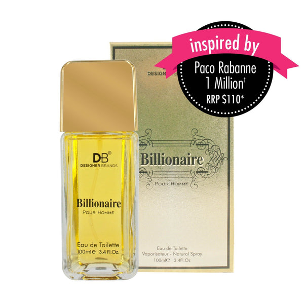 DB Cosmetics Fragrance -Billionaire