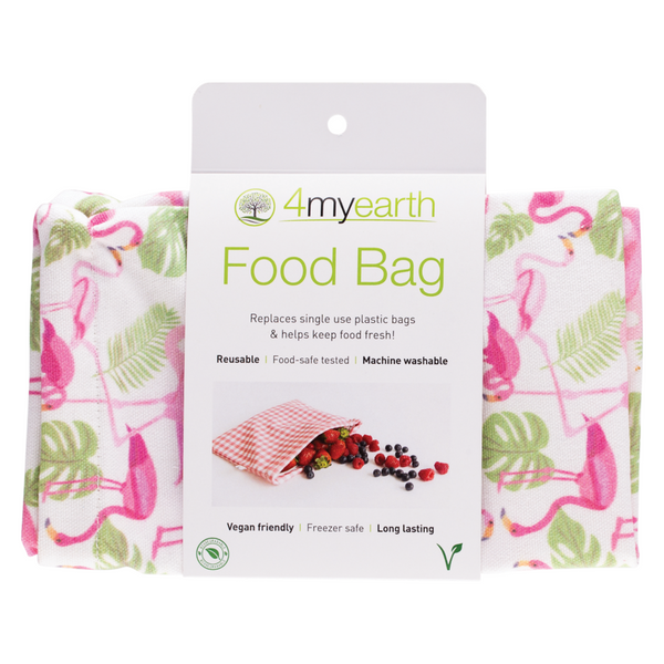 4MyEarth Food Bag -Flamingos
