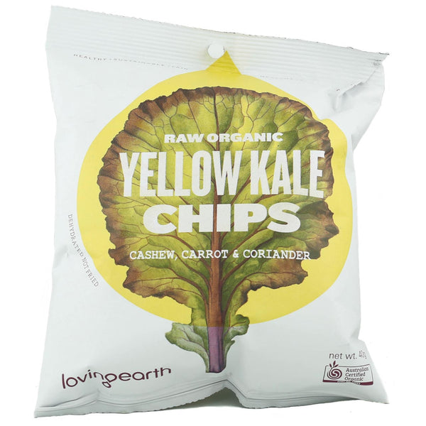 Loving Earth Yellow Kale Chips