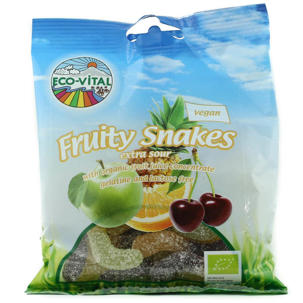 Eco Vital Organic Fruity Sour Snakes