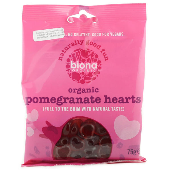 Biona Pomegranate Hearts