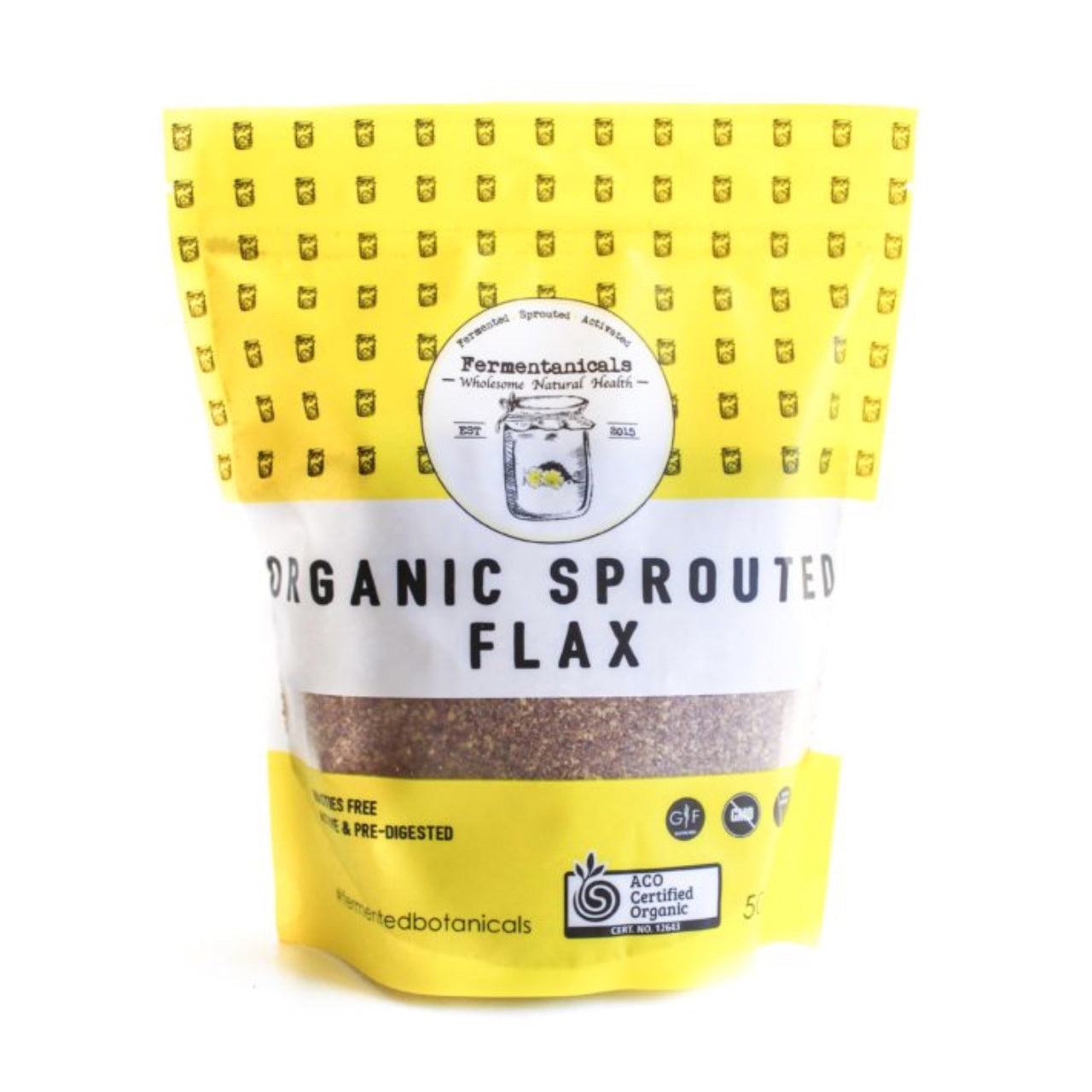 Fermentanicals Organic Sprouted Flax