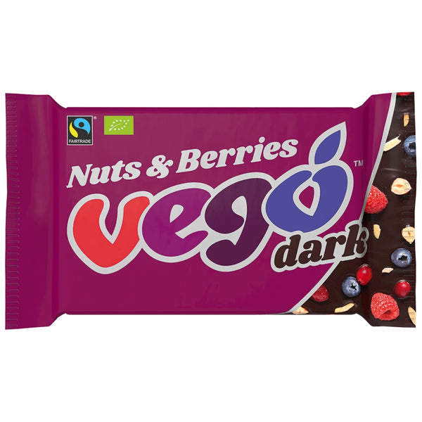 Vego Nuts & Berries Dark Choc Bar
