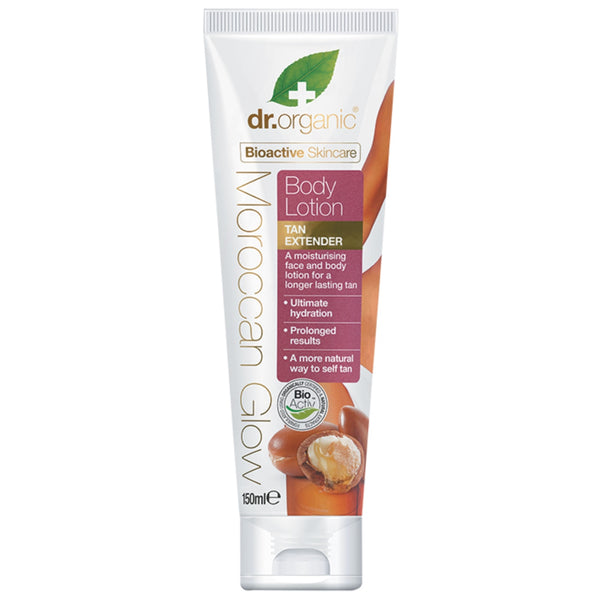 Dr Organic Moroccan Glow Tan Extender Body Lotion