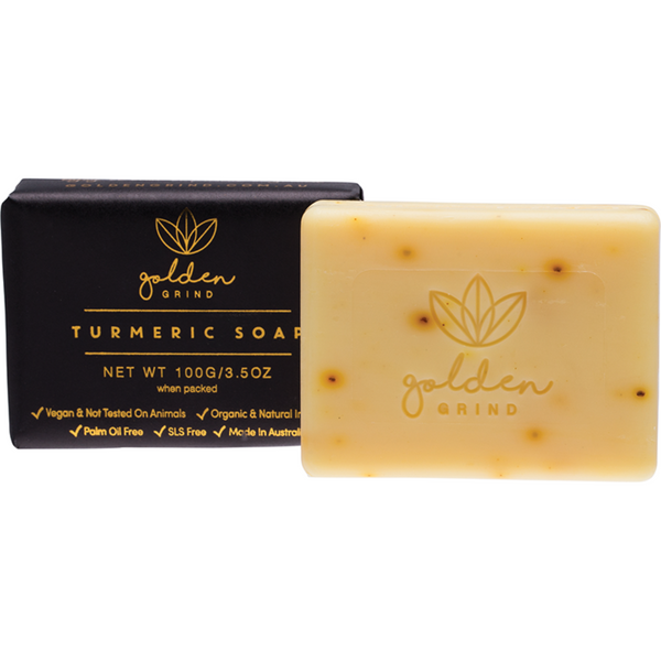 Golden Grind Turmeric Soap