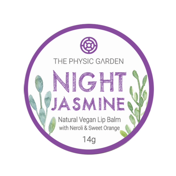 The Physic Garden Lip Balm -Night Jasmine