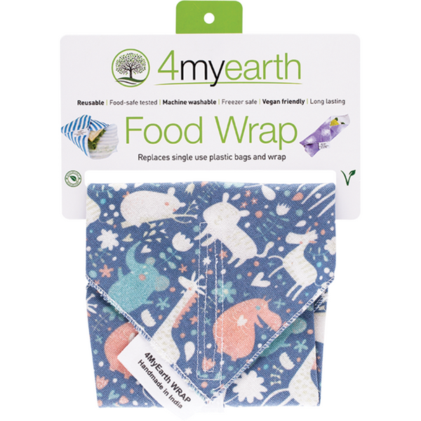 4MyEarth Food Wrap -Animals