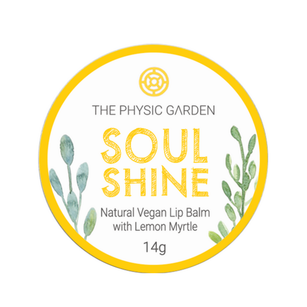 The Physic Garden Lip Balm -Soul Shine