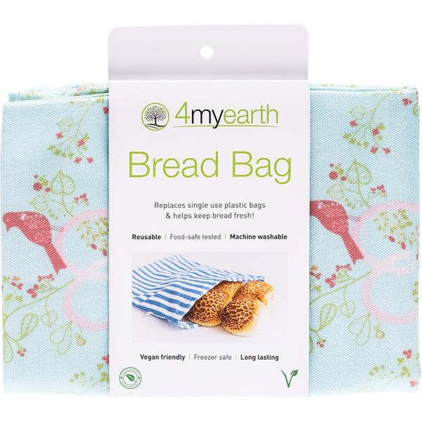 4MyEarth Bread Bag -Love Birds