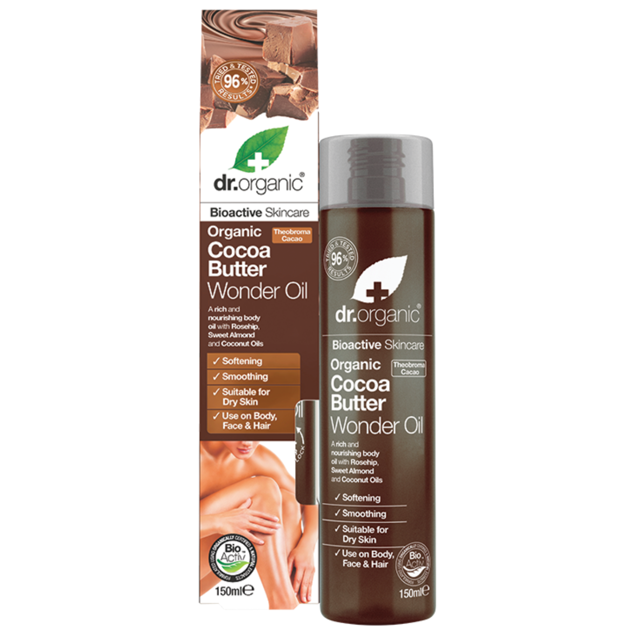 Dr Organic Cocoa Butter Wonder Oil