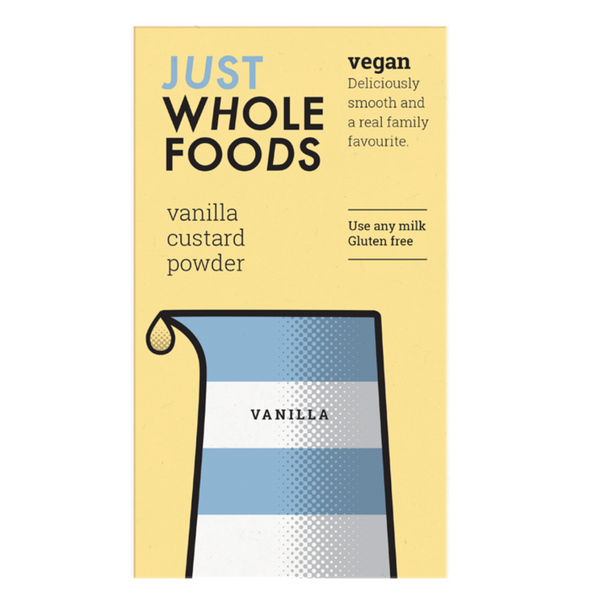 Just Wholefoods Natural Custard Powder