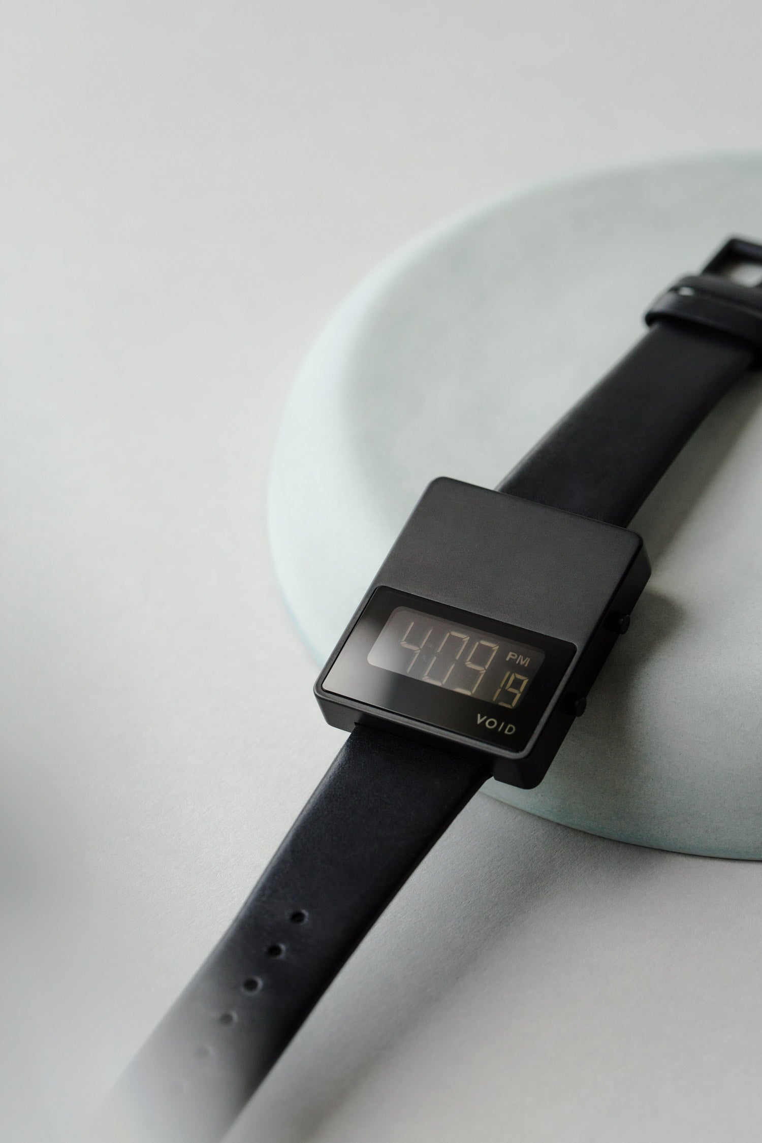 VOID Watches's iconic square watch, the V01MKII by Swedish Designer David Ericsson