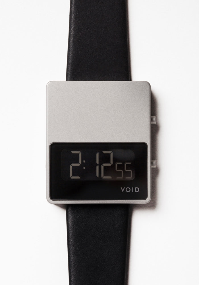The V01MKII-SI/BL from VOID Watches, designed by David Ericsson.