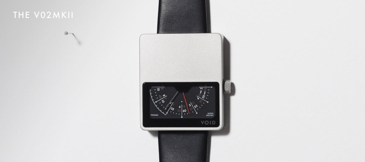 The V02MKII. Clever Not Smart by VOID Watches.