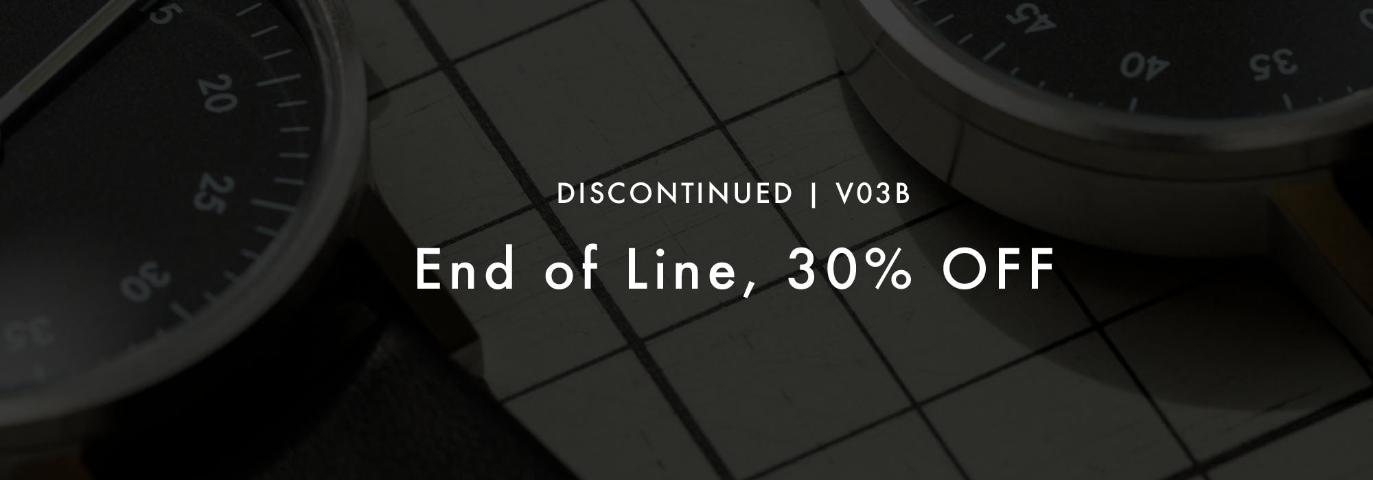 The Discontinued V03B - 30% OFF