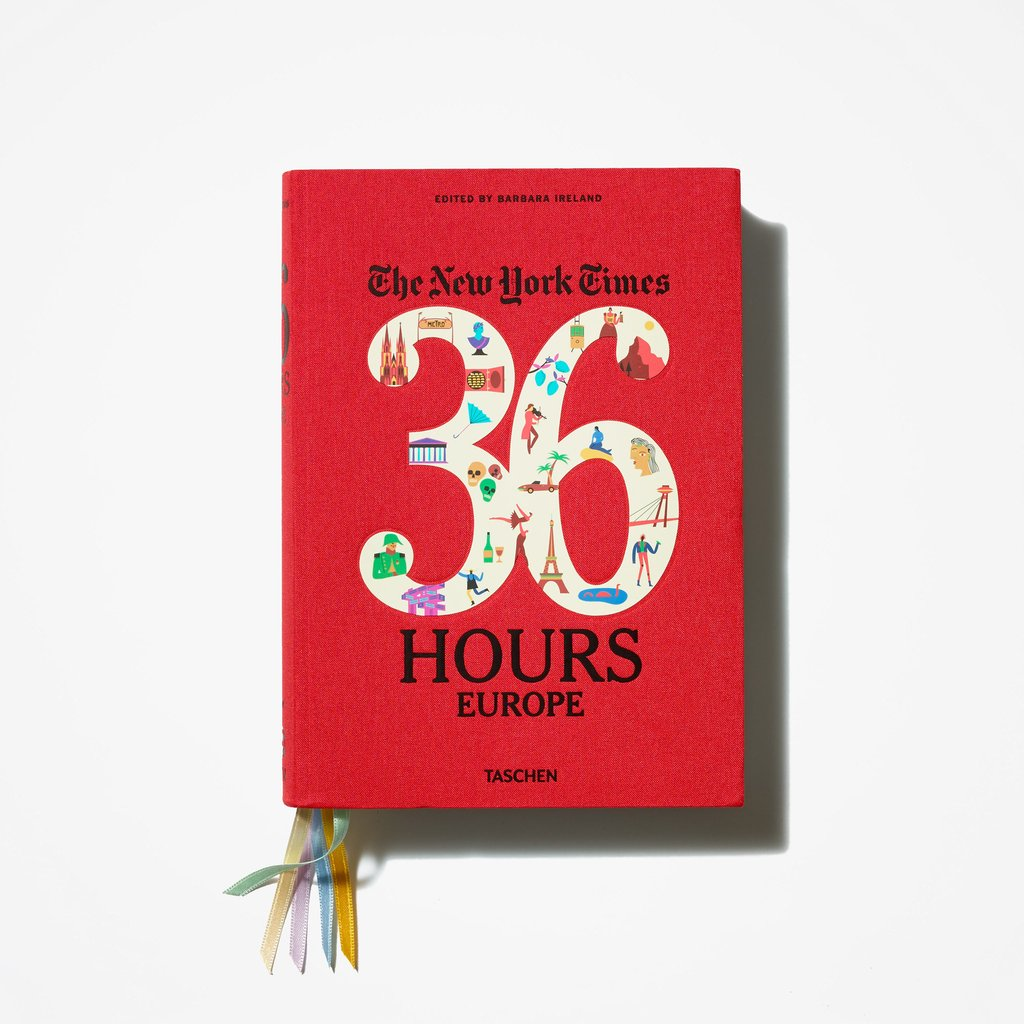 NYTimes 36 Hours in Europe book