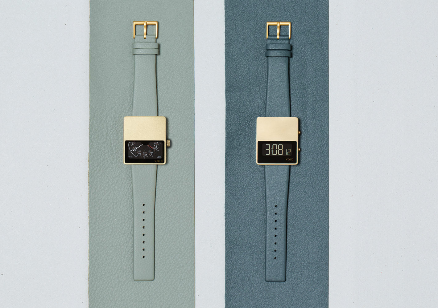 VOID Watches x Sorensen Leather - Capsule Collection