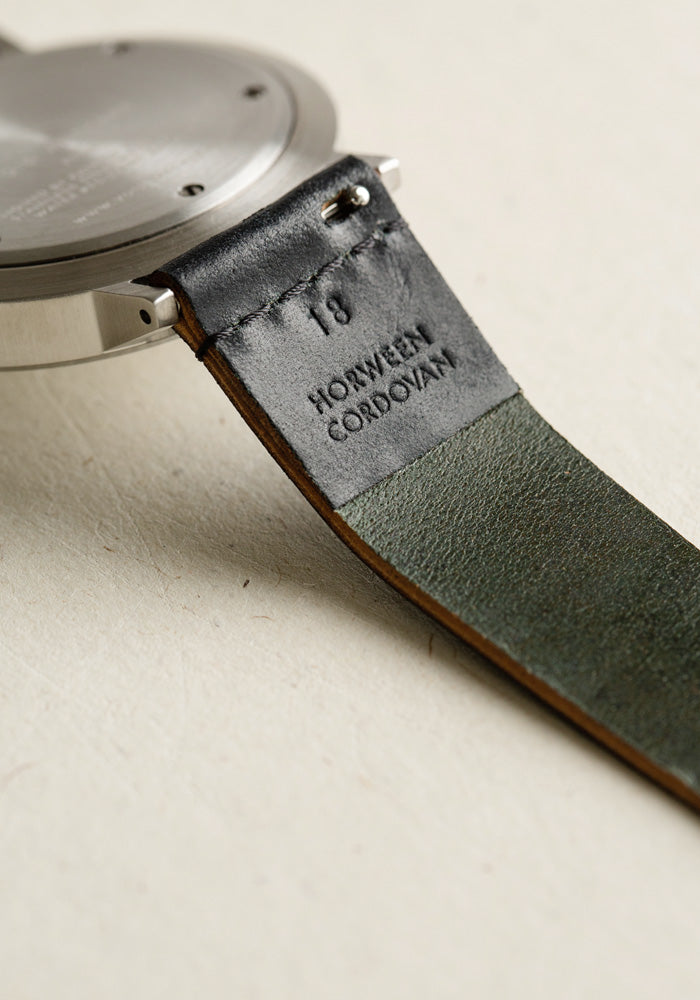 Replacement strap by VOID Watches using Horween Leather