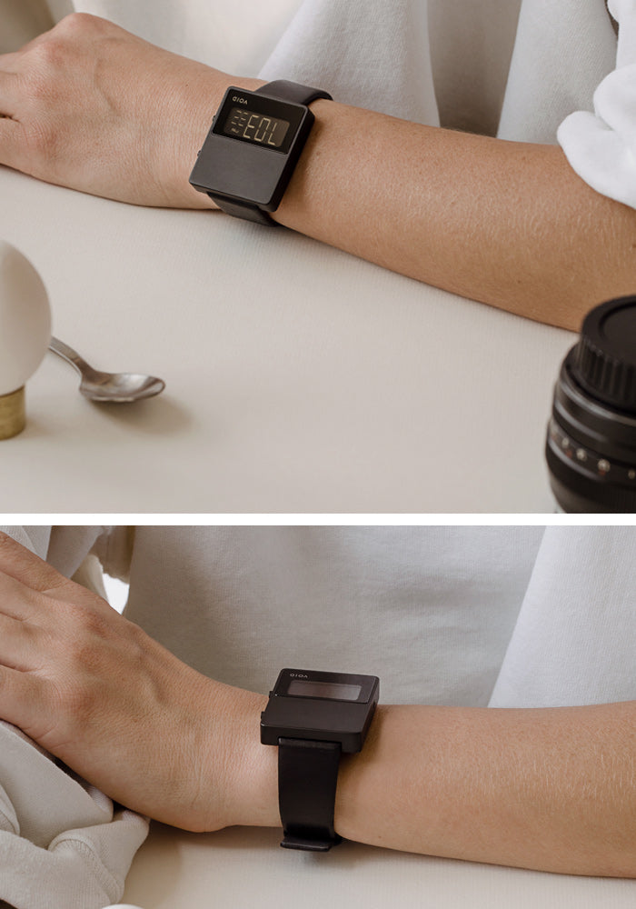 The V01MKII-BL/BL from VOID Watches, designed by David Ericsson.