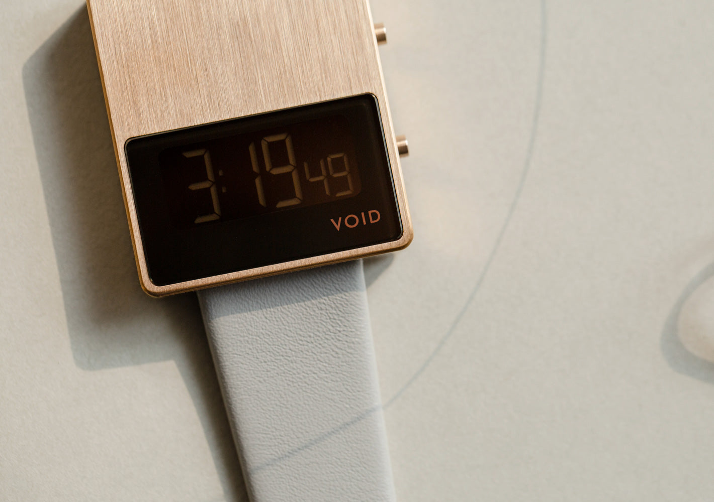 The V01MKII-CO/GY from VOID Watches, designed by David Ericsson.
