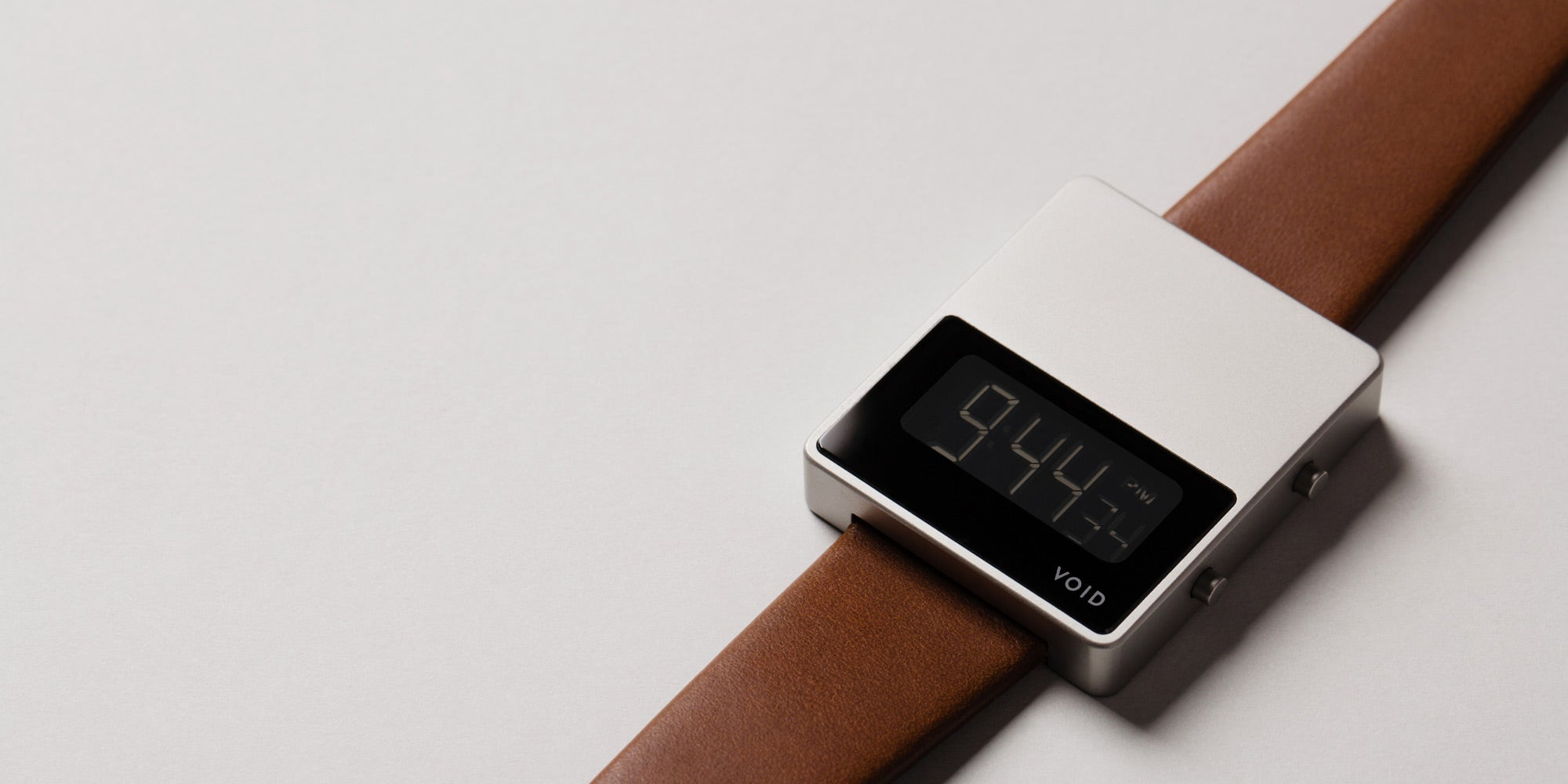 The V01MKII-SI/LB from VOID Watches, designed by David Ericsson.