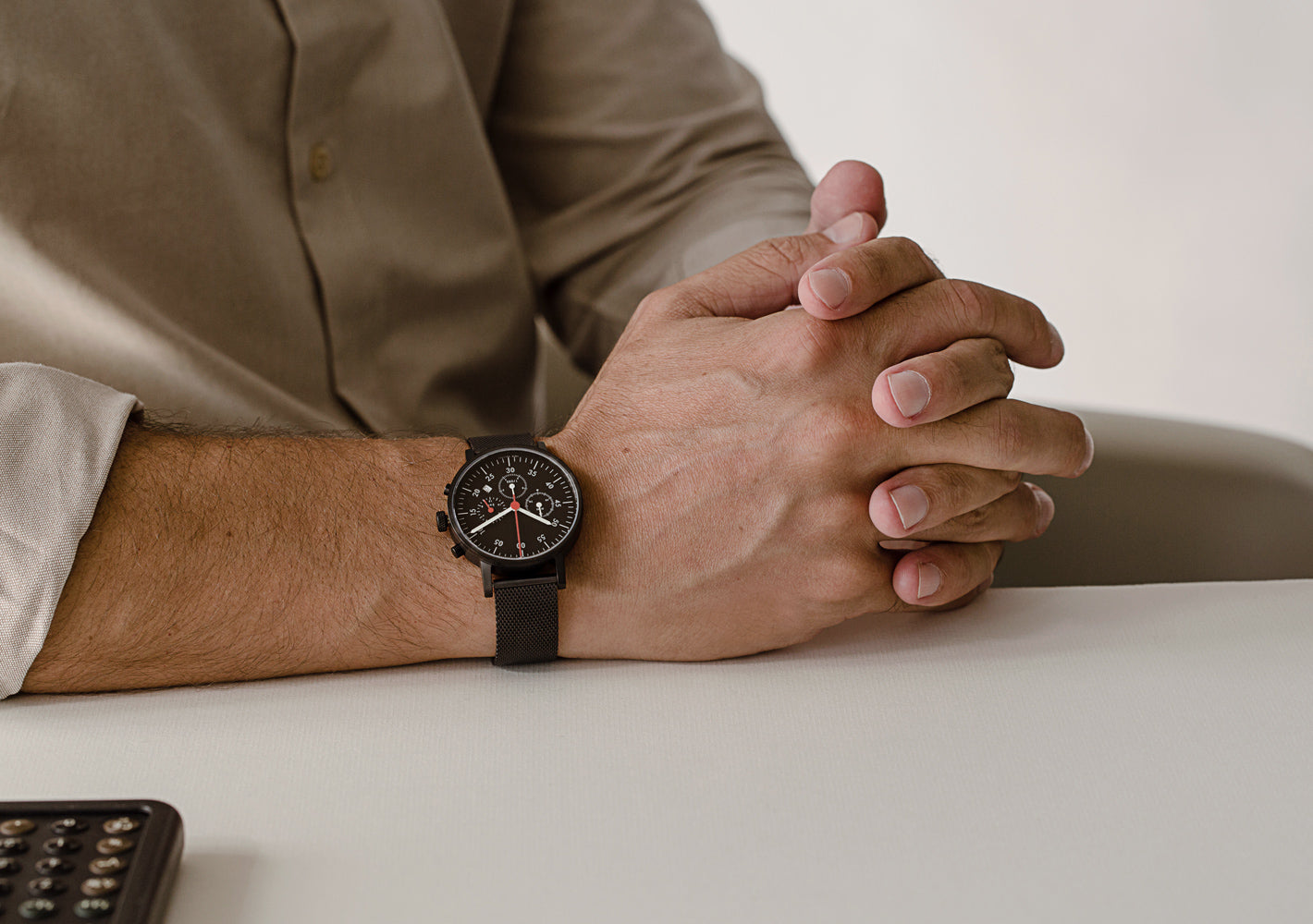 The V03C-BL/MB/BL from VOID Watches, designed by David Ericsson.