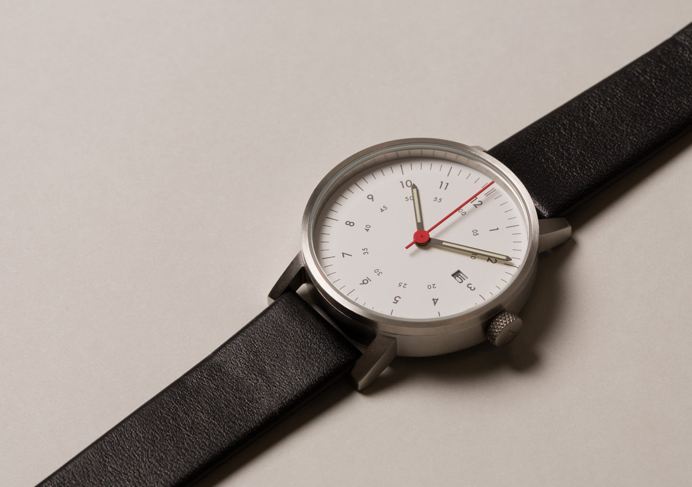 The V03D-BR/BL//WH from VOID Watches, designed by David Ericsson.