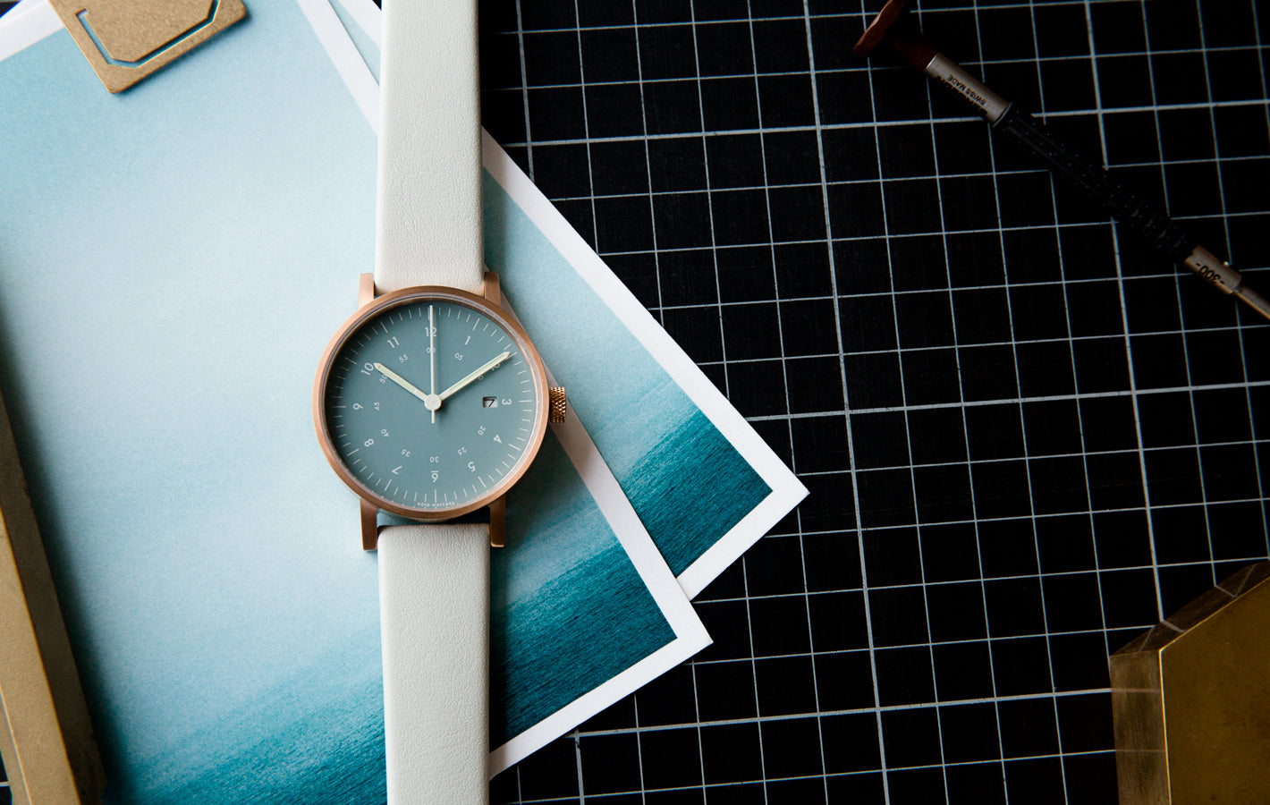The V03D-CO/GY/NY from VOID Watches, designed by David Ericsson.
