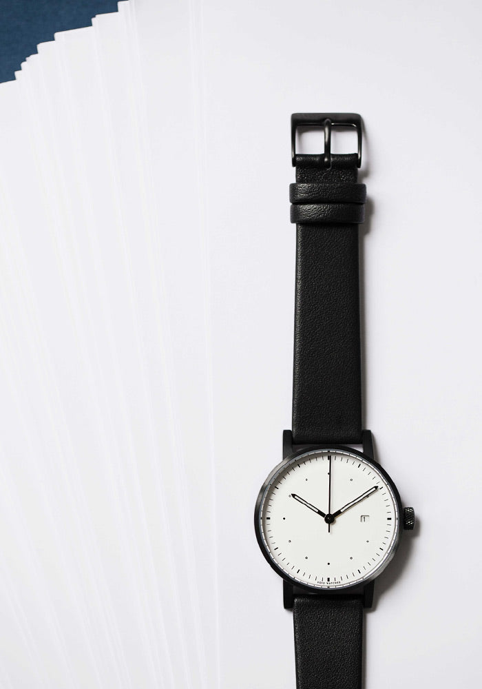 The Limited Edition V03D-Dezeen watch by VOID Watches. Designed by Swedish Designer David Ericsson.
