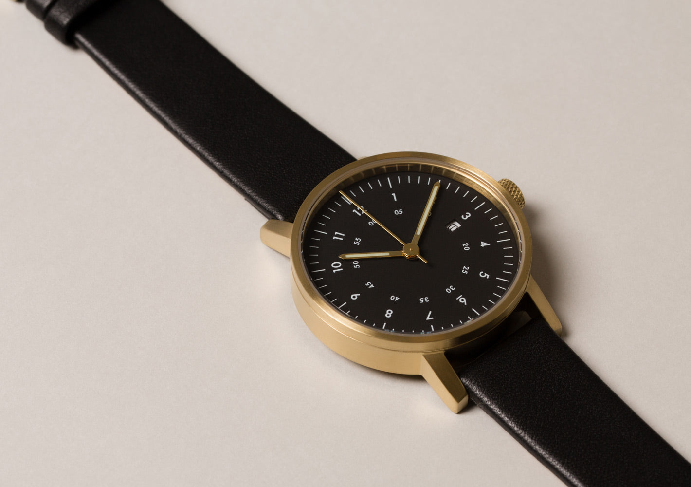 The V03D-GO/BL/BL from VOID Watches, designed by David Ericsson.
