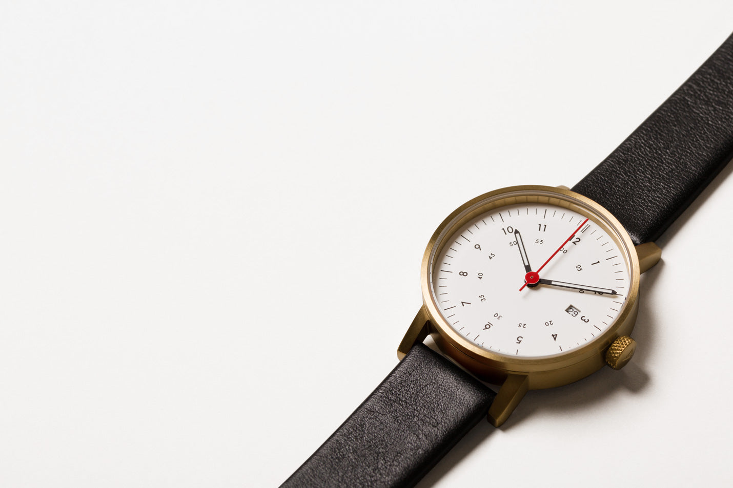 The V03D-GO/BL/WH from VOID Watches, designed by David Ericsson.