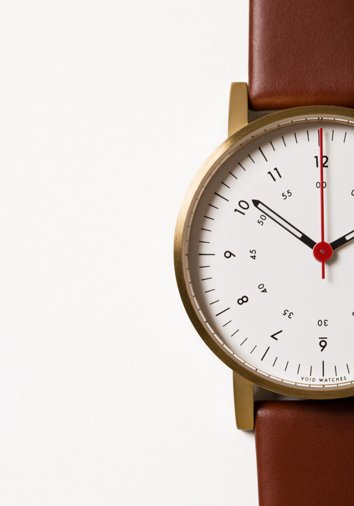 The V03D-GO/LB/WH from VOID Watches, designed by David Ericsson.