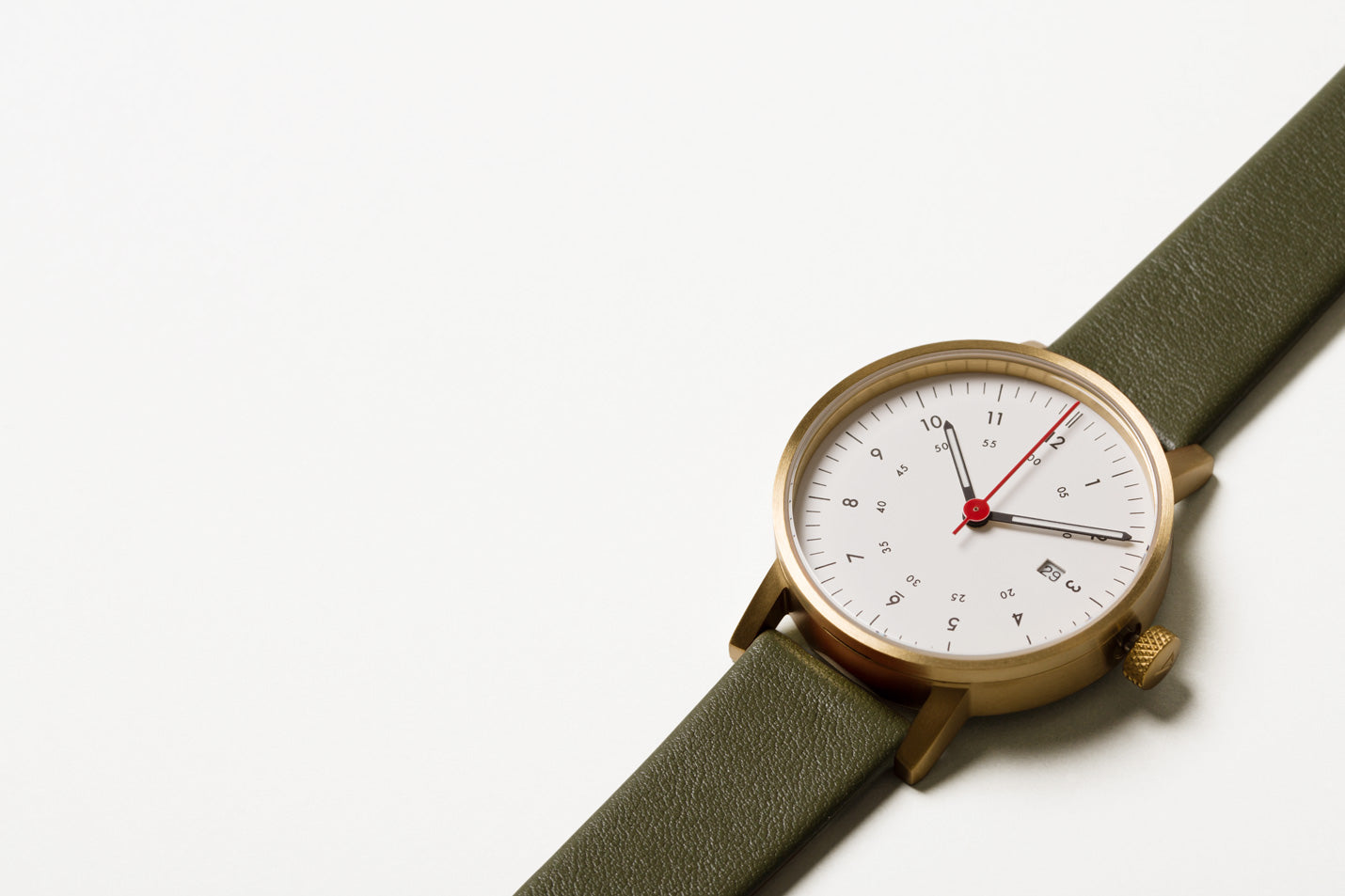 The V03D-GO/OL/WH from VOID Watches, designed by David Ericsson.