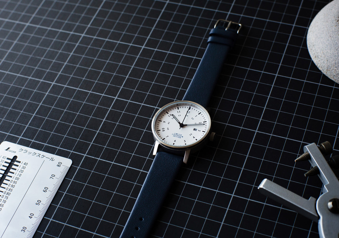 The Limited Edition V03D-STHLM from VOID Watches, designed by David Ericsson.