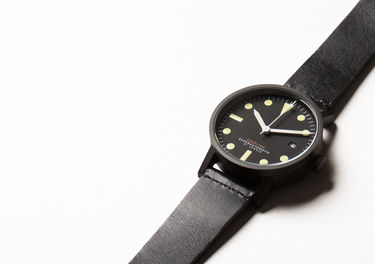 The V03M-BL/TB from VOID Watches, designed by David Ericsson.