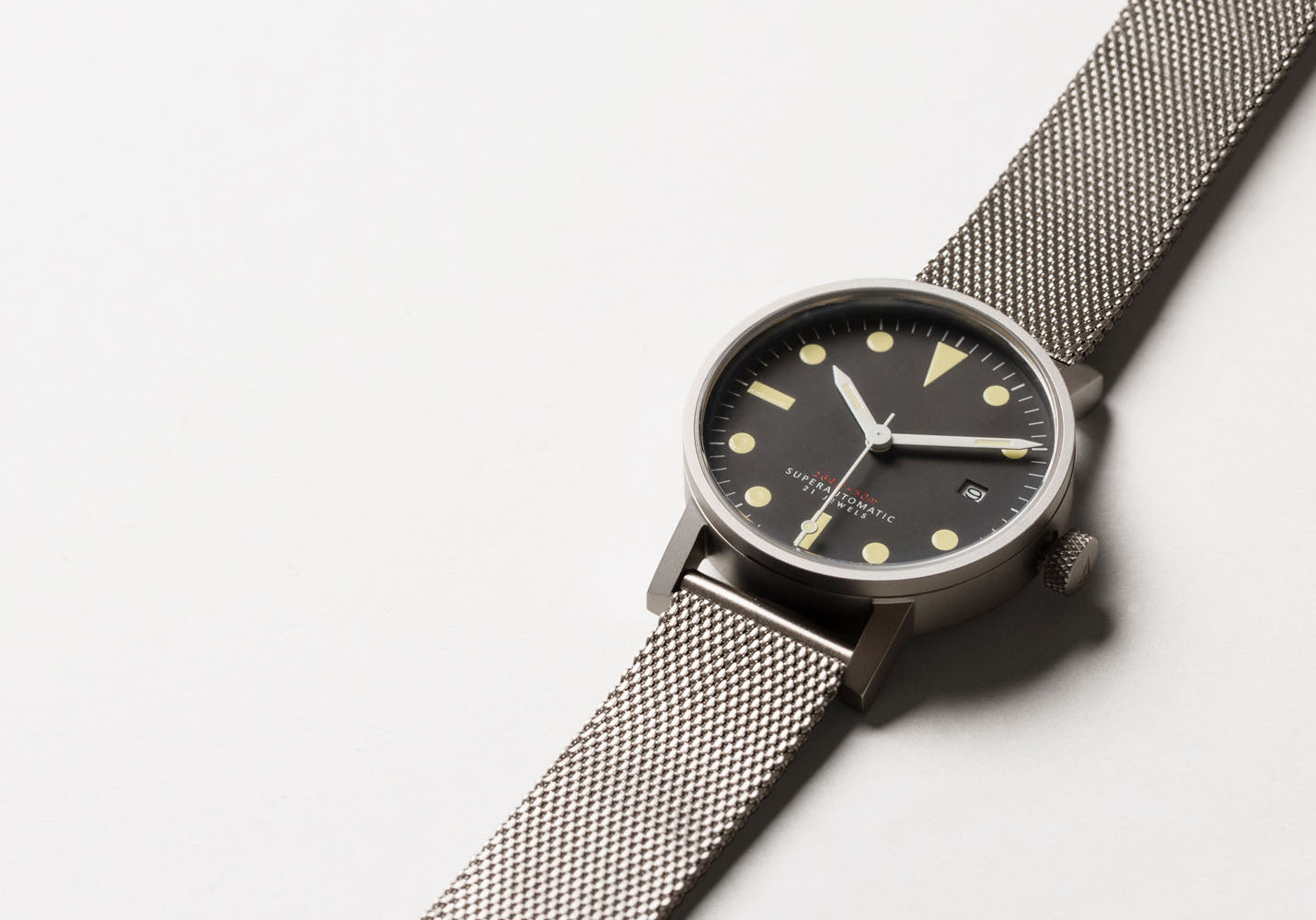 The V03M-SI/MR from VOID Watches, designed by David Ericsson.