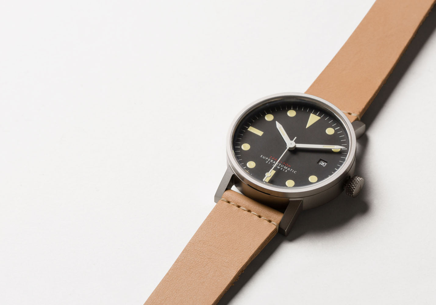 The V03M-SI/TN from VOID Watches, designed by David Ericsson.