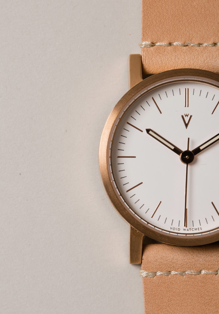 The V03P-CO/TN/WH from VOID Watches, designed by David Ericsson.